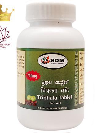 Трифала SDM 100 таб. очищает организм, улучшает обмен веществ