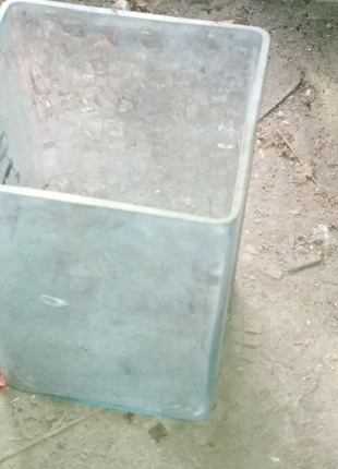 Аквариум террариум ваза 15*15*30