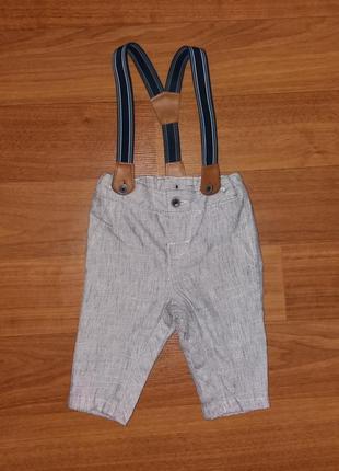 Штаны с подтяжками на мальчика Primark