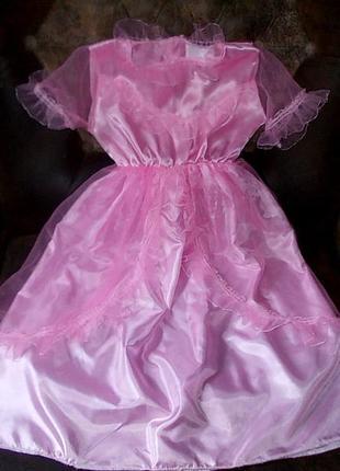 Красивое платье для принцессы 5 -7 лет