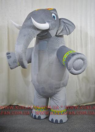 Ростовой костюм Индийский Слон