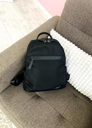 Рюкзак черный, городской,женский, спортивный рюкзак,