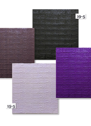 Самоклеющиеся 3Д панели 77см×70см*0.3-0.5см