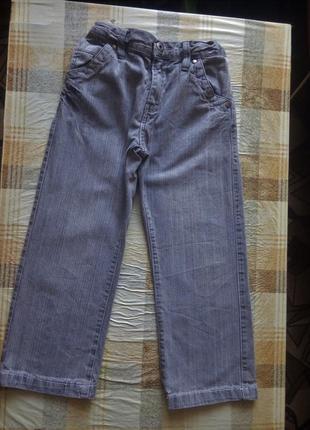 Стильные штаны джинсы брюки на 5-6 лет