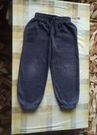 Мягкие штаны штанишки rebel на 5-6лет