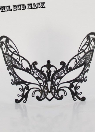 Ажурная эротическая маска из металла Ванесса