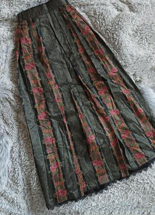 Шикарнейшая юбка макси в пол плиссе хлопок с нереально красивы...