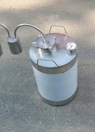Классический проточный 30л дистиллятор самогонный аппарат