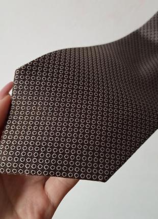 Шелковый галстук шелк angelo litrico