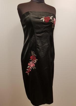 Платье с корсетом next petite