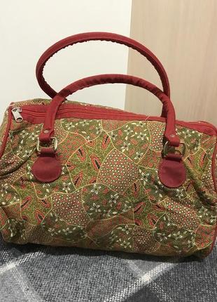 Женская сумка с короткими ручками ( идеал оригинал разноцветная)