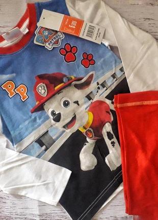 Пижама на мальчика щенячий патруль