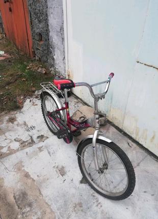 Велосипед детский Салют б/у.