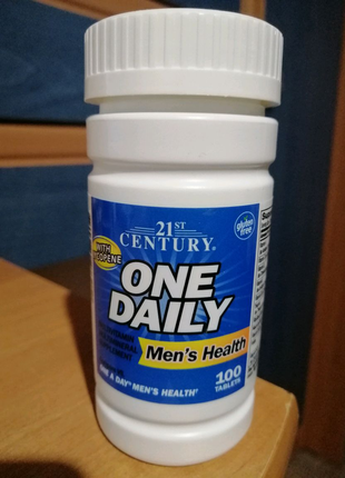 21st Century, One Daily, для мужского здоровья, 100таблеток