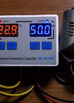 Контроллер влажности температуры инкубатор XK-W1099 (STC-3028)