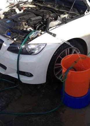 Чистка, промывка, мойка радиатора печки автомобиля, системы ох...