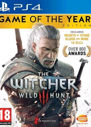 The Witcher 3 Wild Hunt Game of the Year Edition (PS4,русские су)