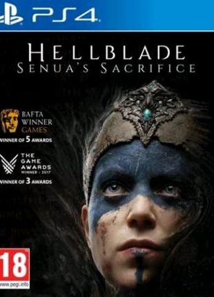 Hellblade Senuas Sacrifice (PS4, русские субтитры)