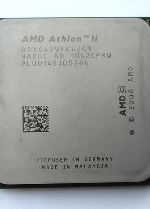 AMD Athlon II X4 640 3000 mhz s.AM2+/AM3 Процессор