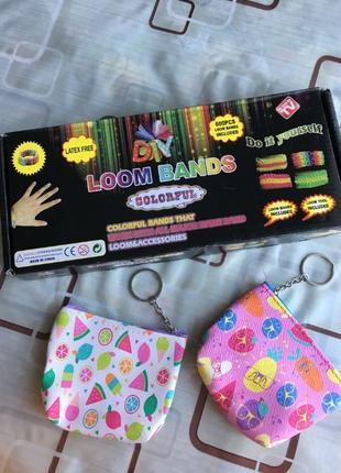 Набор для плетения браслета из резинок Loom Bands + подарки!