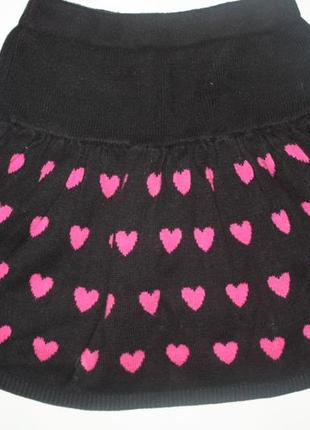 Стильная, модная ,теплая юбочка для девочки от 5 до 8лет,отличное