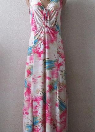 Платье флори2, большой размер