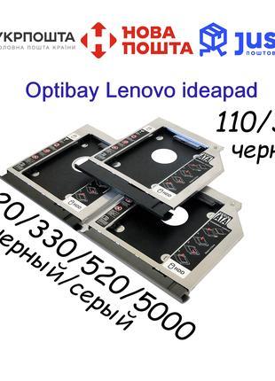 Optibay Lenovo ideapad 320/330/L340/520/5000 карман оптибей