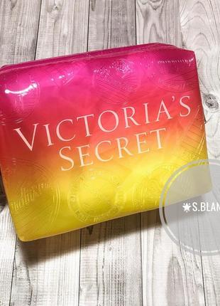 Косметичка силиконовая, бьюти бег от victoria's secret