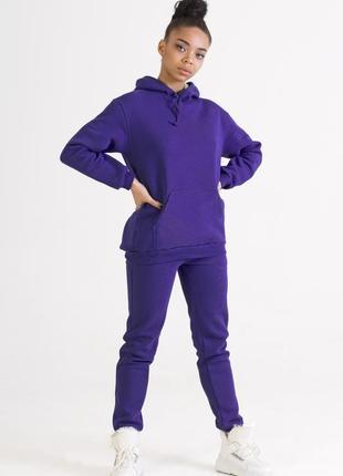Фиолетовый спортивный костюм |костюм фиолетового цвета бренда ...