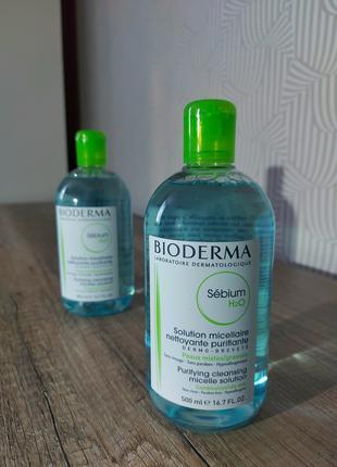 Мицеллярная вода для  жирной кожи Bioderma Sebium
