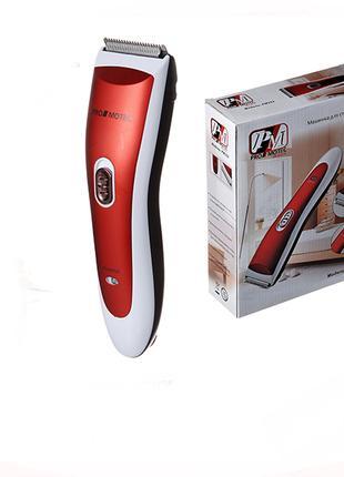 Машинка для стрижки волос Promotec PM-352 триммер с насадками