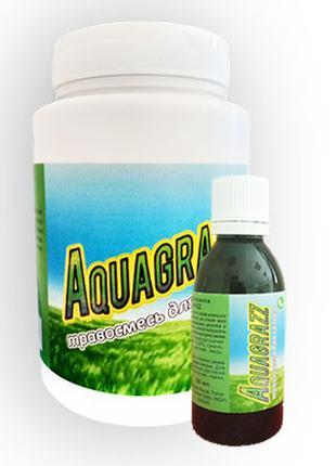 Aquagrazz Жидкий газон-органическая смесь + Травосмесь Акваграз