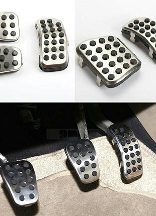 Форд Ford Фиеста накладки на педали