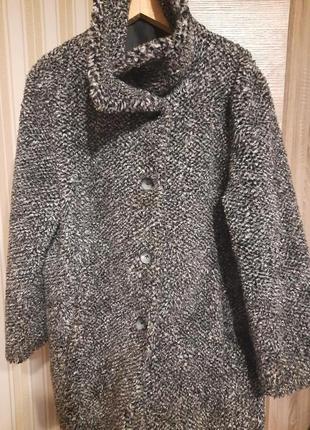 Пальто-шубка, большой размер