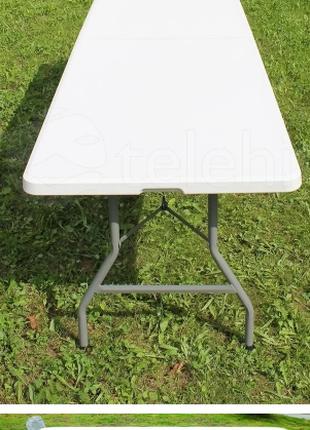 Стол туристический стіл для кемпінгу 240 см польша