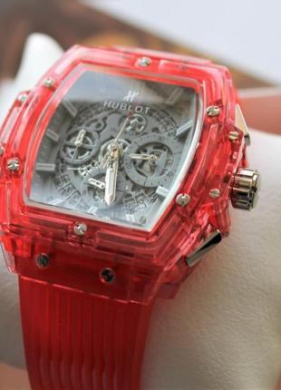 Стильные, новые мужские наручные часы hublot big bang quartz u...