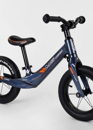 Детский Беговел Велобег MG Sport надувные колеса 12 дюймов, ма...