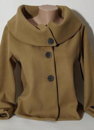 Пальто кардиган без подкладки