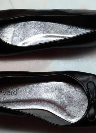 Женские туфли, балетки boulevard, кожа- 39,5