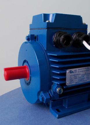 Електродвигателя однофазный 0.37 кВт - 4 кВт