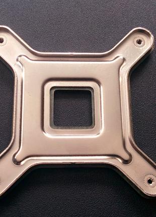 Бэкплейт сокет 775 ( 72х72 мм) металл.