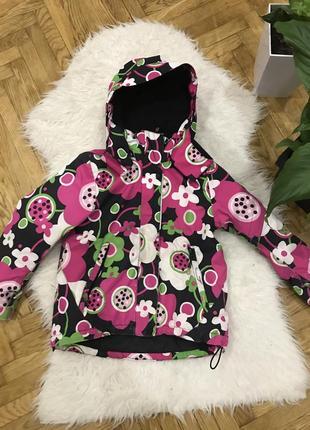 Куртка курточка термо термокуртка лыжная детская для девочки r...