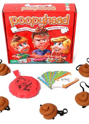 "Настольная игра ""PoopyHead"""