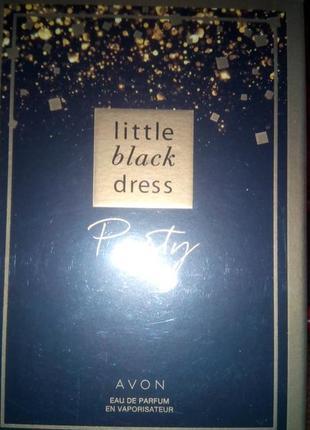Little black dress party Маленькое чёрное платье -парфюм от компа