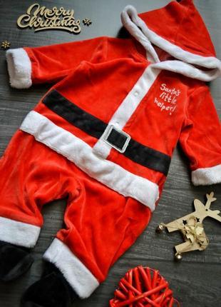 Новогодний человечек santa0-3месяца