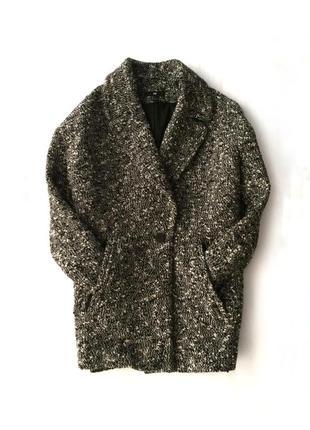 Теплое пальто оверсайз h&m , плащ, куртка