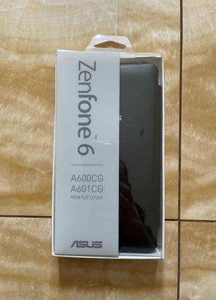 Чехол книжка телефон Asus ZENFONE 6 VIEW FLIP COVER Black