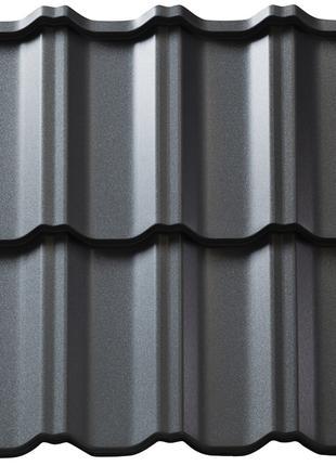 Металлочерепица глянцевая и матовая толщиной 0,4, 0,45, 0,5 мм