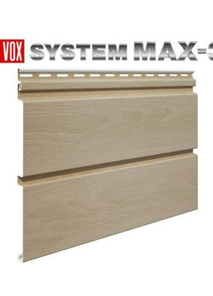 Сайдинг виниловый VOX SYSTEM MAX-3
