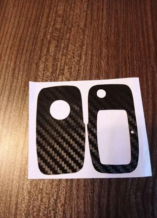Карбоновая наклейка на ключ Volkswagen
